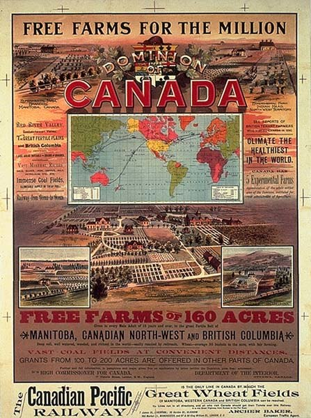 Canadian Pacific Ry free farms 1893