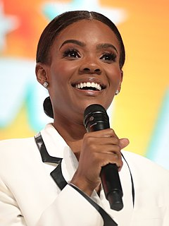Candace Owens American political commentator and activist
