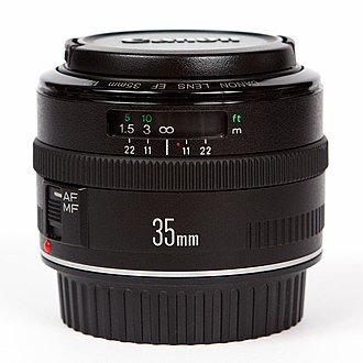 Canon EF 35mm lens - Image: Canon 35mm f 2 II