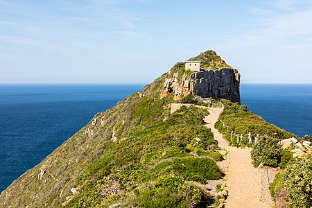 View of Cape Point, South Africa
