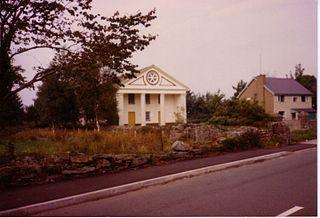 Peniel Chapel Grade I listed building in Gwynedd. Chapel in Tremadog, north Wales