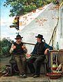 Carl Bloch - En Samtale mellem to Fiskere (1880).jpg