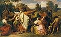 Carl Rahl - Moses beschützt die Töchter Requels - 2437 - Österreichische Galerie Belvedere.jpg