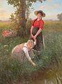 Carl von Bergen - Blumen pflücken.jpg