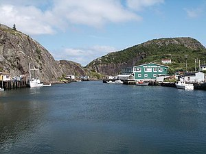 Avalon Peninsula - Quidi Vidi, a district of St. John's