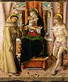 Carlo Crivelli - The Virgin and Child with Saints Francis and Sebastian.jpg