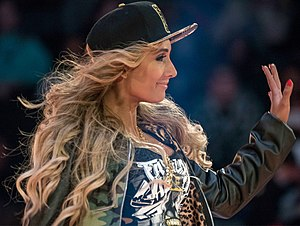 Money in the Bank (2017) - Due to Carmella controversially winning the first Women's Money in the Bank ladder match, a rematch was scheduled for the June 27 episode of SmackDown Live with James Ellsworth banned from the arena; Carmella won the rematch by retrieving the briefcase herself and definitively earned a SmackDown Women's Championship match contract