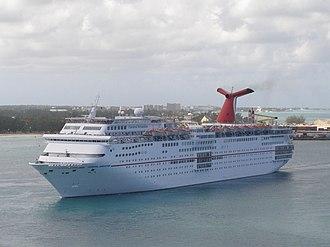 Fantasy-class cruise ship - Image: Carnival Sensation Nassau 12 23 11