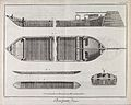 Carpentry; a heavy barge (top), and a lighter, plans and sec Wellcome V0023890.jpg