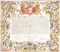 Carta de Cirurgião dada a Manuel de Sá de Mattos (5 de Julho de 1762).png