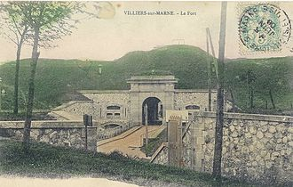 Fortifications of Paris in the 19th and 20th centuries - Fort de Villiers, 1878-1880, second ring of the Ile de France