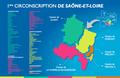 Carte Benjamin DIRX 1ère circonscription de Saône-et-Loire.png