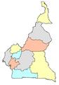 Carte vierge du Cameroun.png