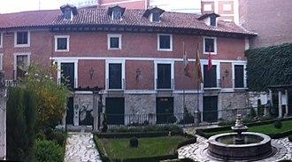 Casa de Cervantes - Image: Casa de Cervantes en Valladolid (España)