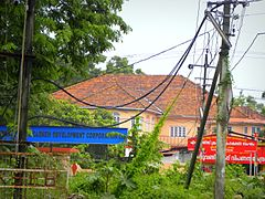 Cashew House in Kollam, a distant view, June 2015.jpg