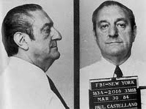 Paul Castellano - FBI mugshot, March 30, 1984