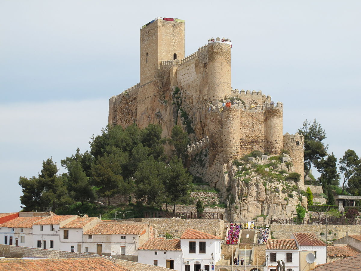 Almansa wikipedia la enciclopedia libre - Castillo de azay le rideau ...