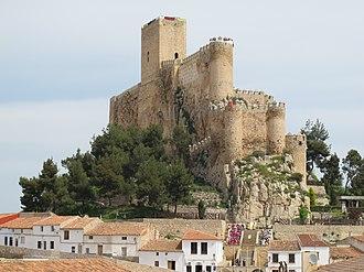 Almansa - Image: Castillo Almansa 4