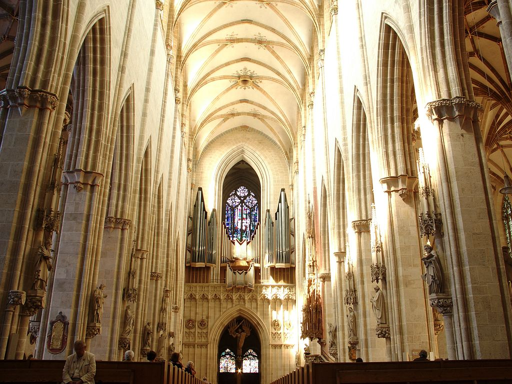 Catedral d'Ulm - interior
