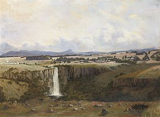 Cathcart William Methven - Village of Howick and Umgeni Falls