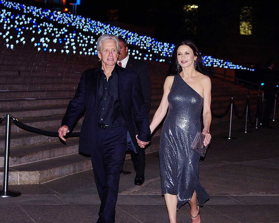 Catherine Zeta-Jones Michael Douglas 2012 Shankbone 2