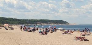 Cedar Beach (Brookhaven, New York) - Image: Cedar Beach in Mount Sinai, New York