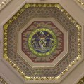 Ceiling detail, the Maryland state seal, at the William H. Welch Medical Library, the library of the Johns Hopkins Hospital in Baltimore, Maryland LCCN2013650458.tif