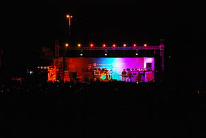 Sri Venkateswara College - Celeb Show at NEXUS 2012