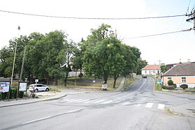 Center of Jinošov, Třebíč District.jpg