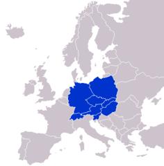 Vidurio Europa - Wikiwand