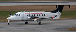 Beechcraft 1900D der Central Mountain Air
