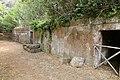 Cerveteri, necropoli della banditaccia, tombe a camera nella zona della tomba della casetta 02.jpg