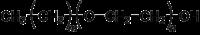 Halbstrukturformel der Polyalkylenglycolether