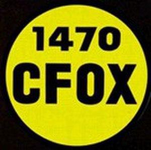 CFOX (AM) - Image: Cfox 1470