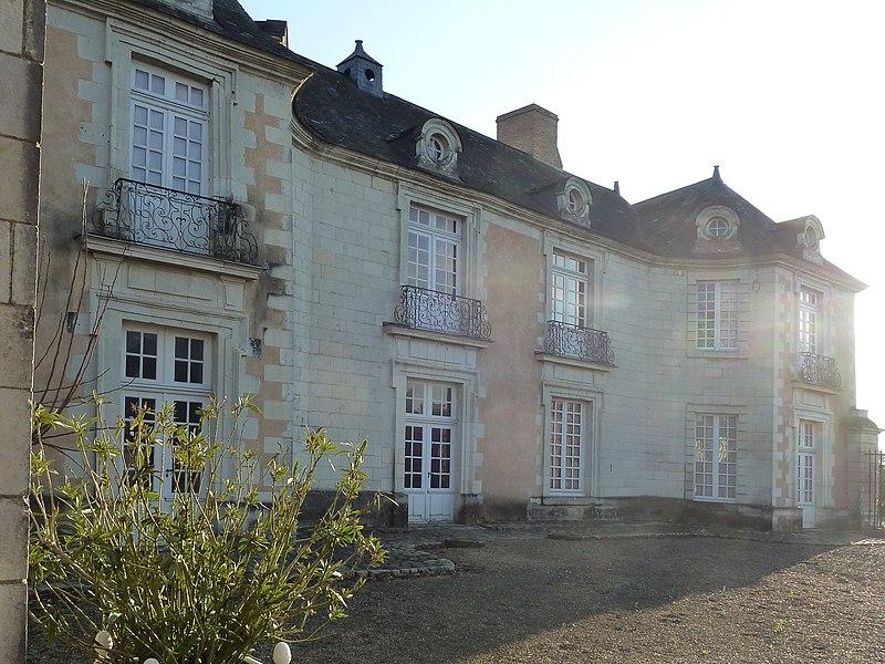 English:  Orgemont Castle, a 18th century house, 280 Château-d'Orgemont Street in Angers, Maine-et-Loire, Pays de la Loire, France.