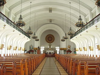 St. La Salle Hall - The Chapel of the Most Blessed Sacrament on the southwestern wing of St. La Salle Hall.