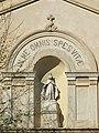 Chapelle des Pénitents Noirs (Menton) statue.jpg