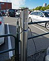 Charging pole EV parking lot Oslo 10 2018 3799.jpg
