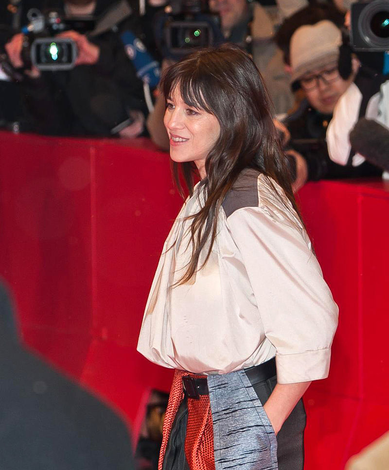 L'actrice et chanteuse anglo-française Charlotte Gainsbourg, membre du jury, Ouverture du 62e Festival international du film de Berlin   Source : Wikimedia.