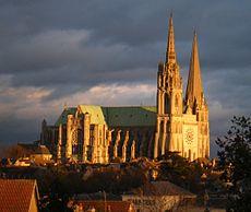 Image illustrative de l'article Cathédrale Notre-Dame de Chartres