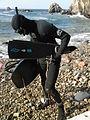 Chasseur sous-marin et son équipement.jpg