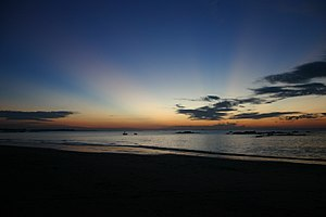 Ayeyarwady Region - Chaungtha Beach is an important tourist destination in Ayeyarwady Region.