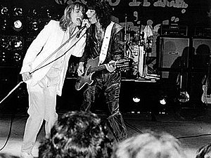 Cheap Trick - Cheap Trick performing in 1978 in Charlotte, North Carolina, at the Park Center
