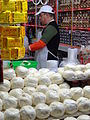 Cheese Vendor in Market - Oaxaca City - Oaxaca - Mexico - Copy (6499524773).jpg