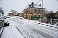 Cheppy sous la neige. La grande rue.JPG