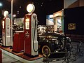 Chevrolet 1941 Special Deluxe Convertible By Gas Pumps.jpg