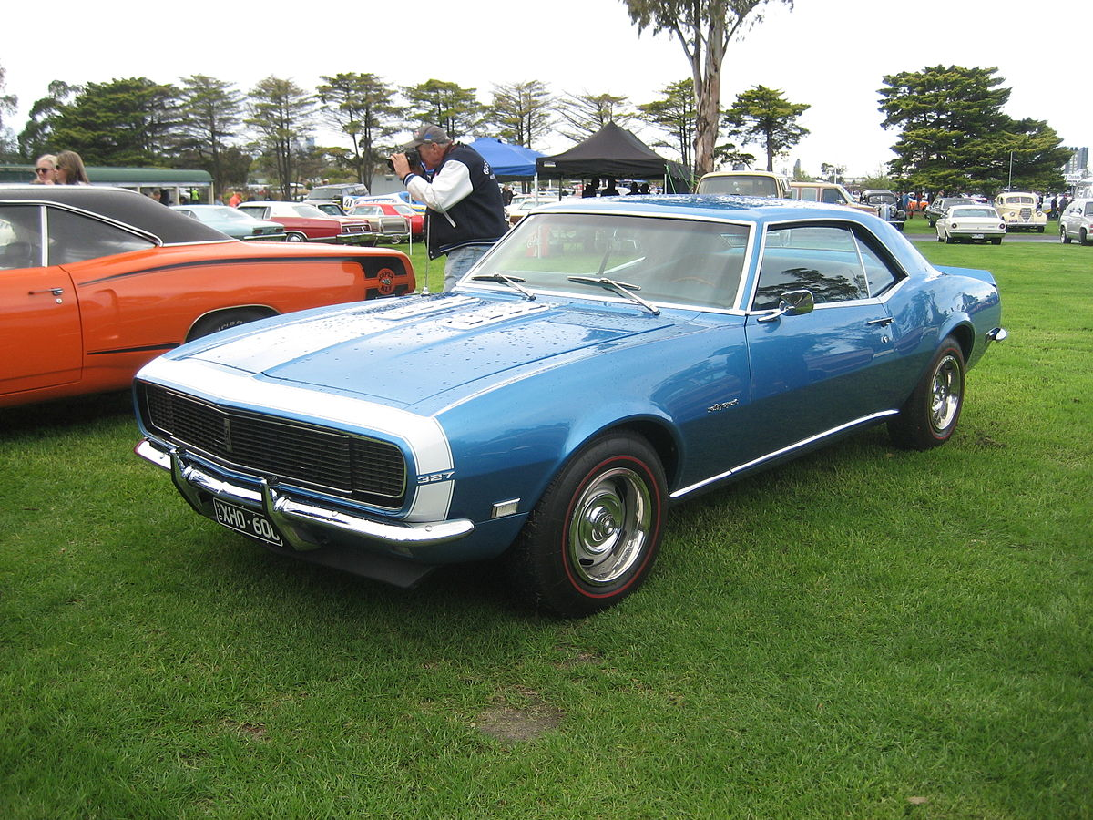 Chevrolet Camaro First Generation Wikipedia