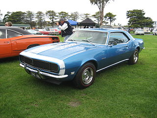 Chevrolet Camaro (first generation) sports car / pony car by Chevrolet