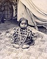Cheyenne baby with lucky charm. Department of Anthropology, 1904 World's Fair.jpg