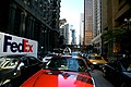"""Chicago (ILL) Downtown N Clark St. """" Fedex & Cab 2556 """" (4825331788).jpg"""